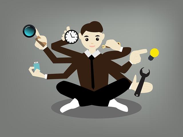 multitasking praca