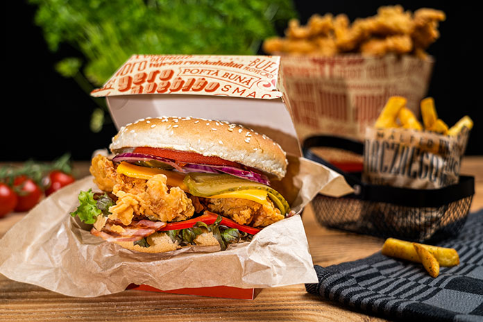 Opakowanie na burgery